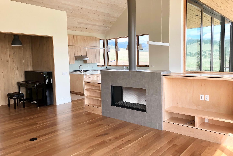 custom-fireplace-and-built-in-shelve-in-Edgell-custom-home